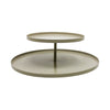 Two Tier Cake Stand  - Sand
