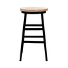 Wood Iron Bar Stool