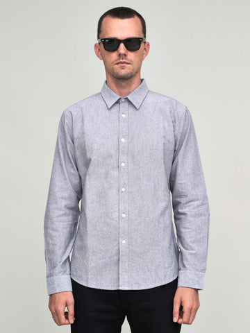 Classic Shirt Dark Grey Oxford