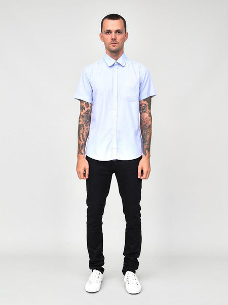 CLASSIC SHORT SLEEVE SHIRT - BLUE - Standard Issue NYC
