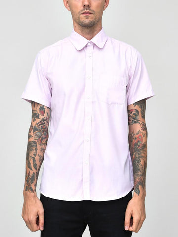 CLASSIC SHORT SLEEVE SHIRT PINK - Standard Issue NYC