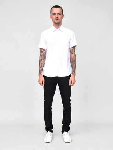 CLASSIC SHORT SLEEVE SHIRT WHITE - Standard Issue NYC