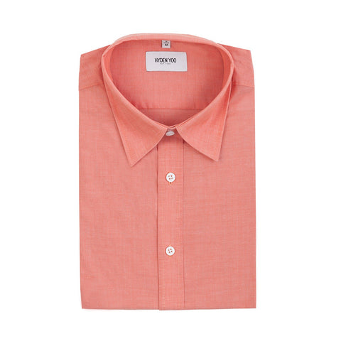 Thompson Dress Shirt - Salmon