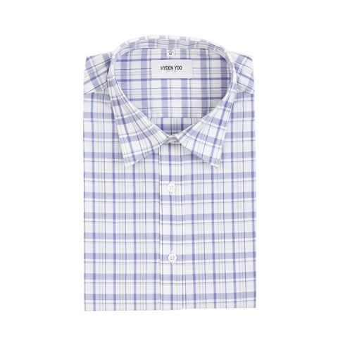 Connor Shirt - Purple Plaid
