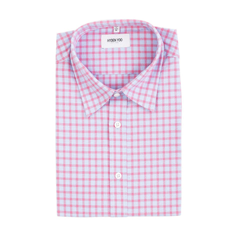 Connor Shirt - Gingham Red