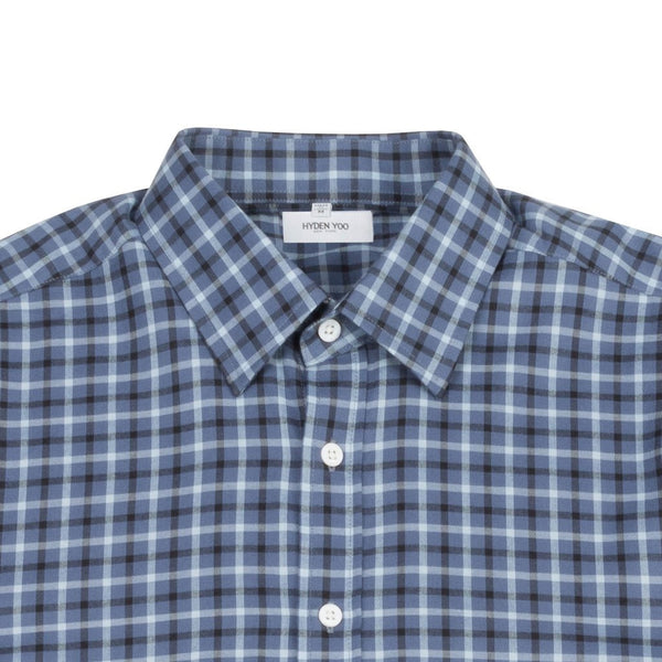 Thompson Dress Shirt - Blue Plaid