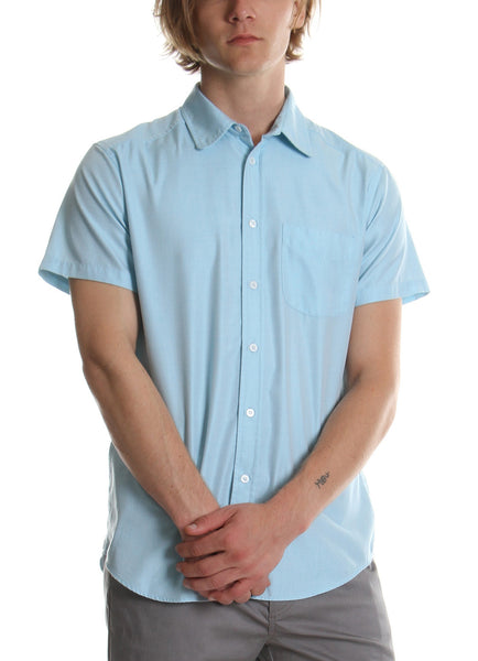 CLASSIC SHORT SLEEVE SHIRT BLUE - Standard Issue NYC