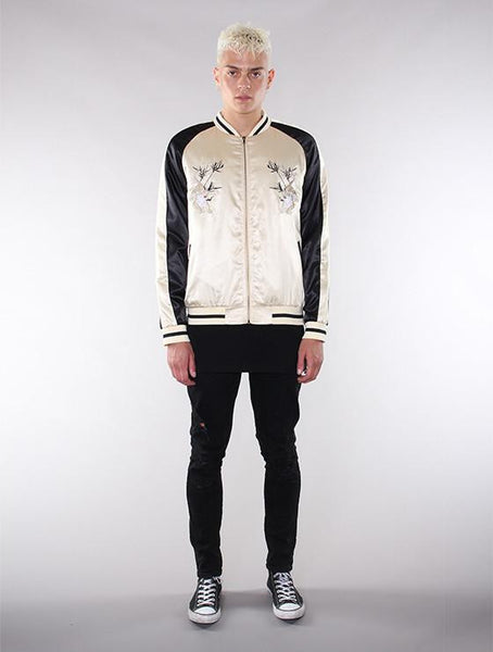 Unisex Gold/Black Souvenir Jacket - Standard Issue NYC