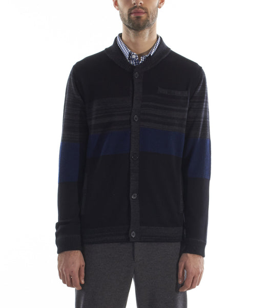 Soho Cardigan Black Mix