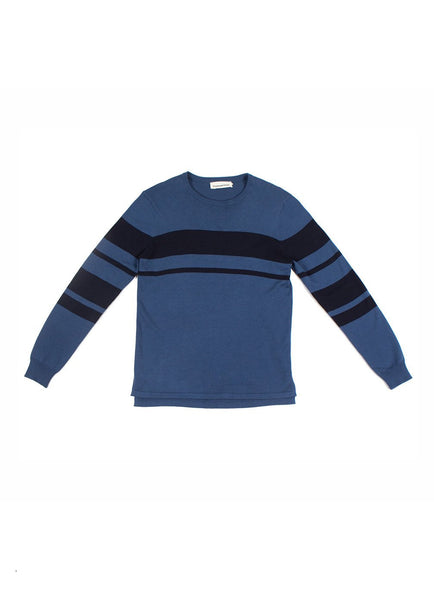 CREW NECK SWEATER NAVY - Standard Issue NYC