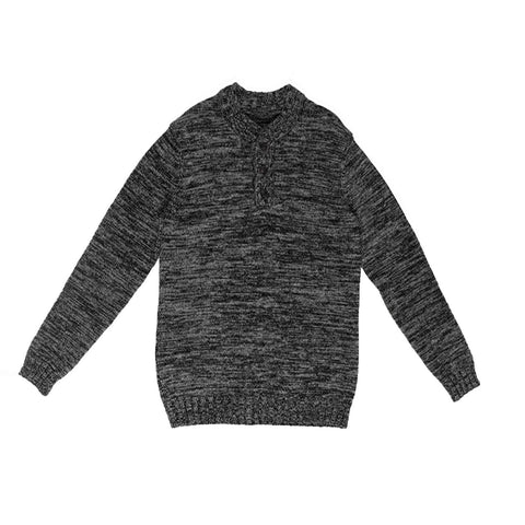 Pullover Sweater Blk/Gry