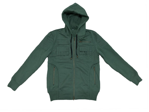 MOTO HOODIE GREEN - Standard Issue NYC