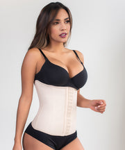 Corset belt with hooks / Ref: 1214