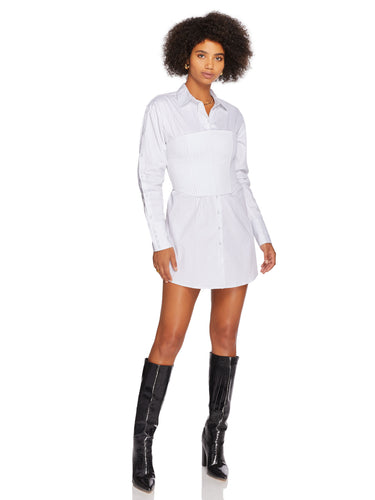 Gianni Corset Button Up Dress