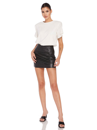 Aimee Shoulder Pad Tee
