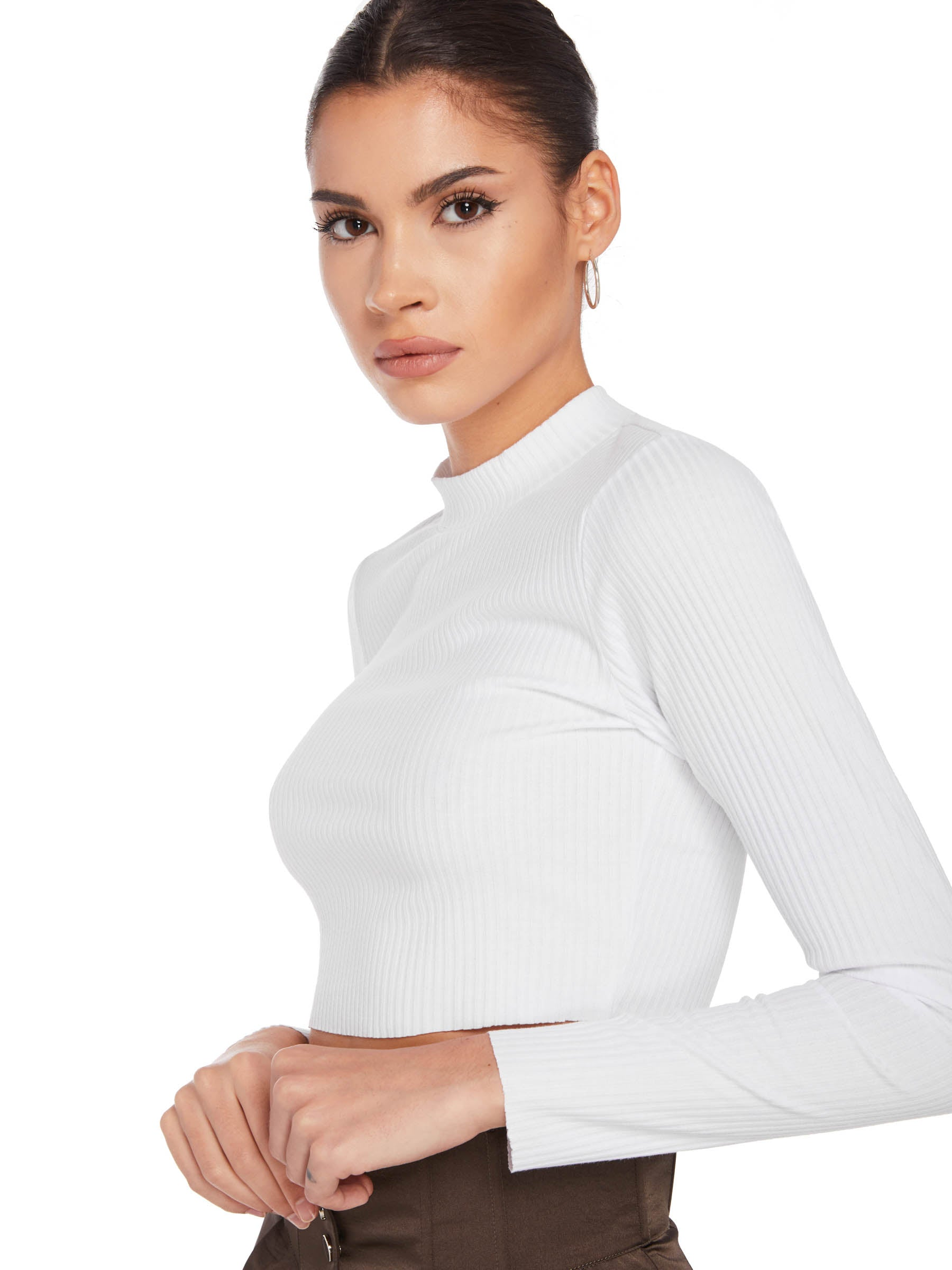 Lorenza Mock Neck Long Sleeve