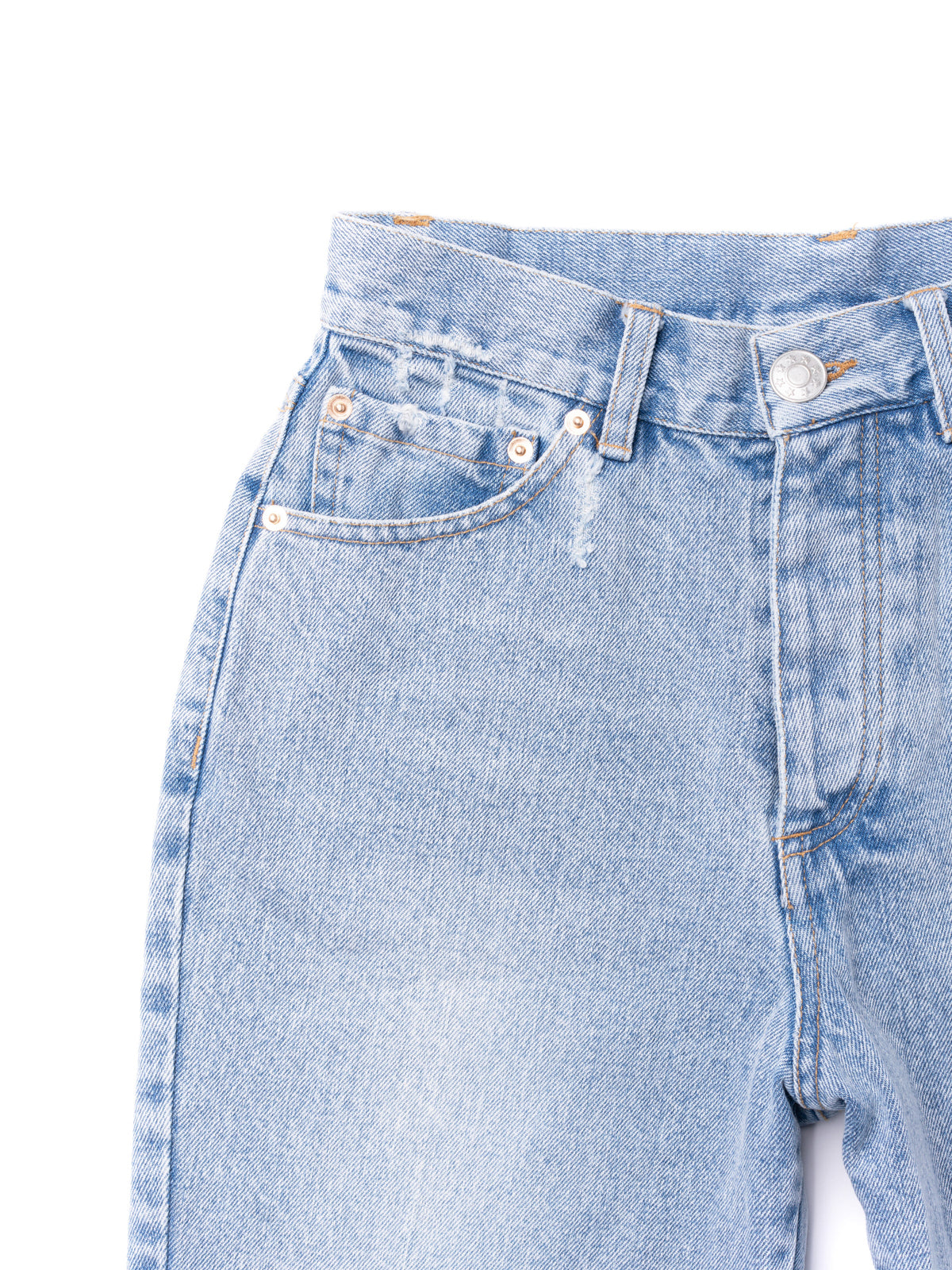 Long Denim Short