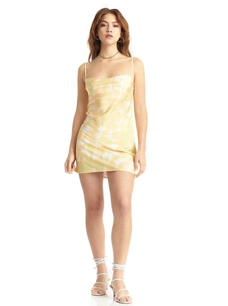 Oasis Tie Back Slip Dress