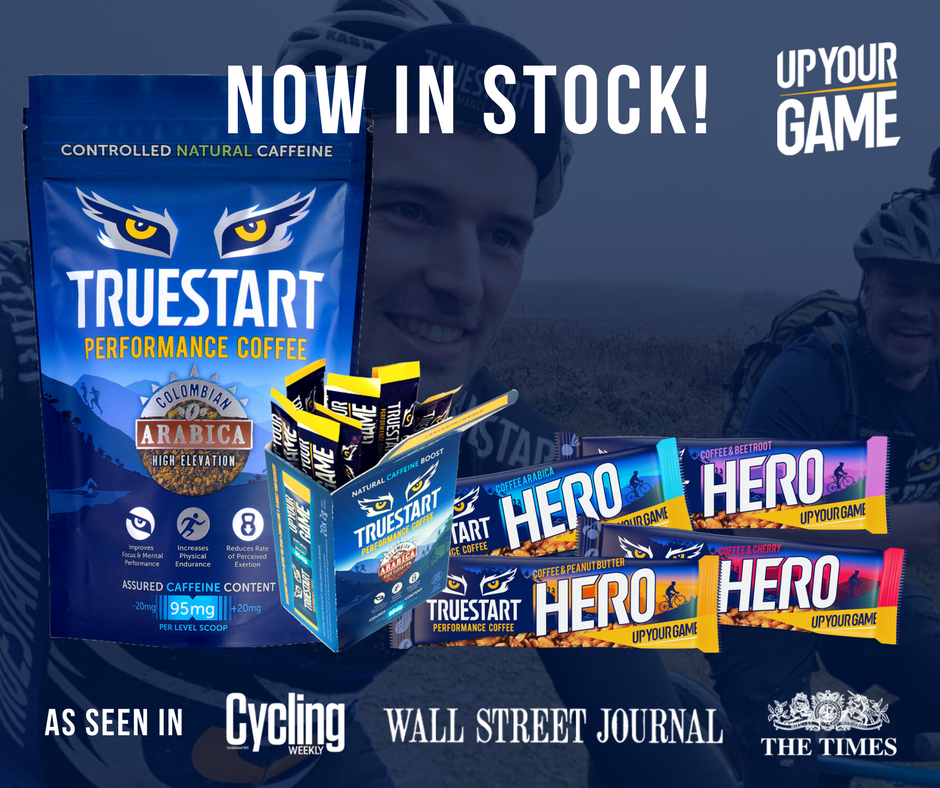Supercharge Your Workout with TrueStart Hero Caffeine Bars