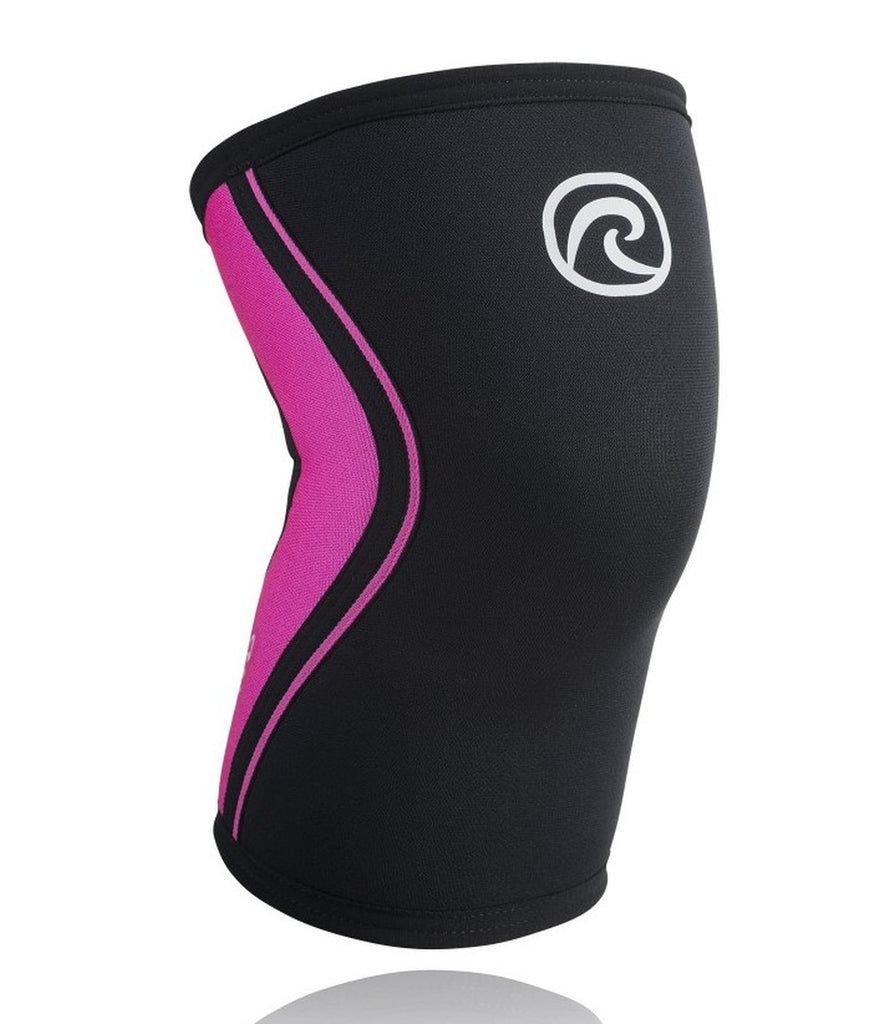 Rehband RX Knee Sleeve 7mm Black / Pink
