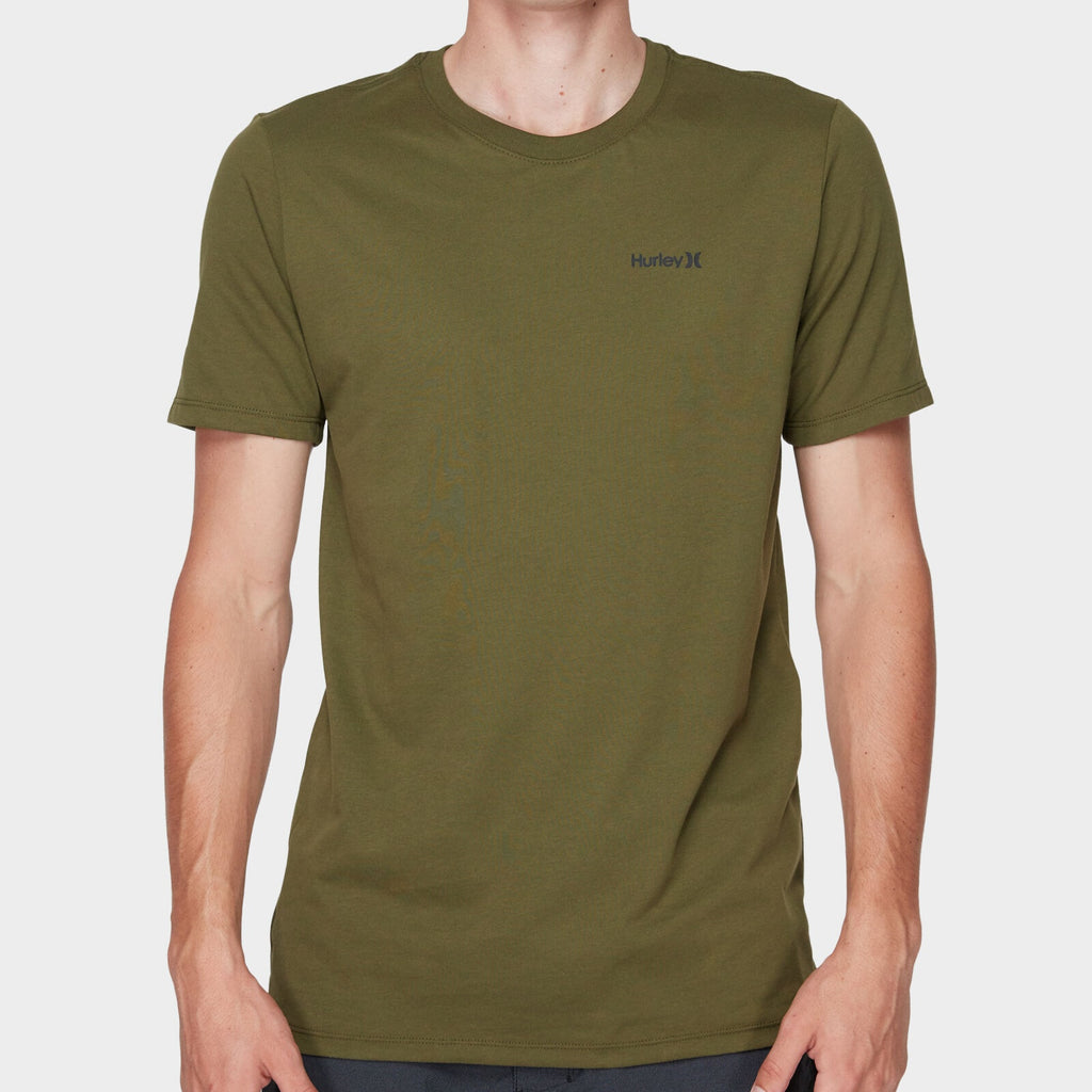 Hurley Dri-Fit One and Only 2.0 Tee Olive Canvas