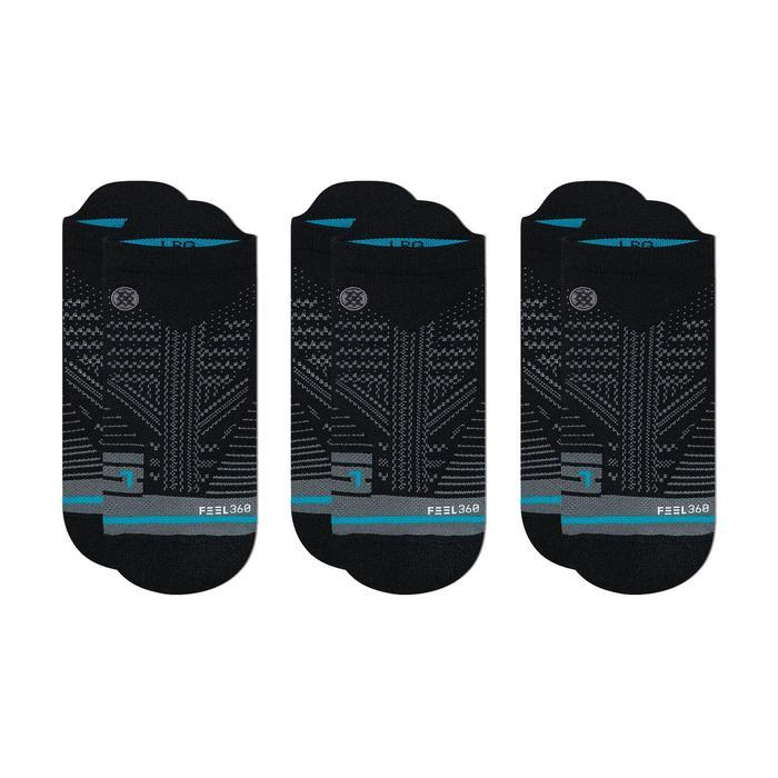 Stance Training Socks Mens Train Tab 3 Pack Black