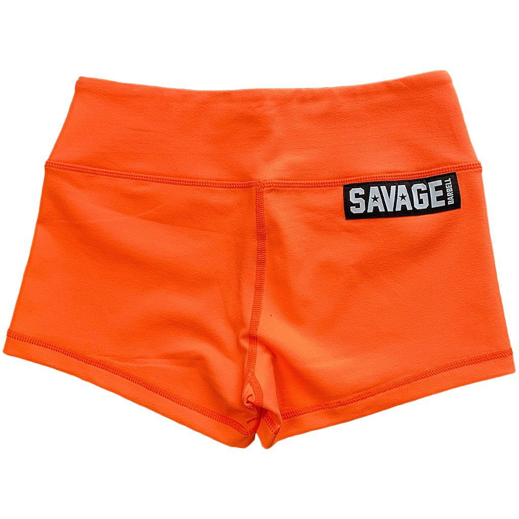 Savage Booty Shorts  Orange Crush