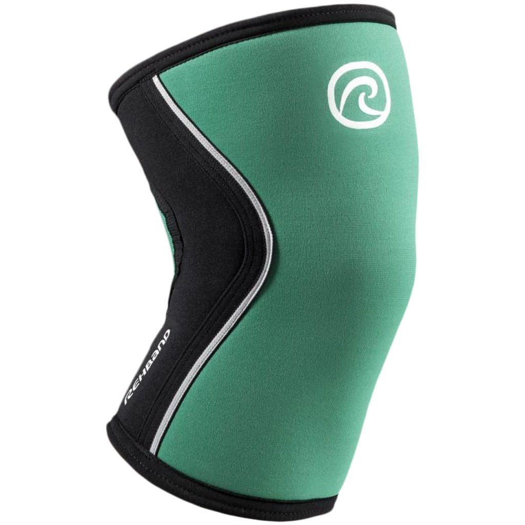 Rehband RX KNEE Sleeve 5mm Emerald Green / Black