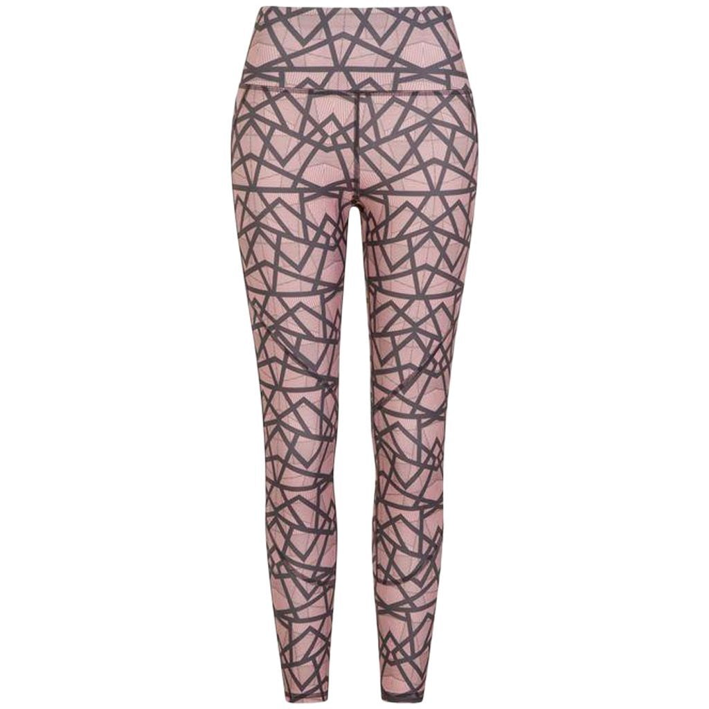 Dot Dash Pink Geo Leggings