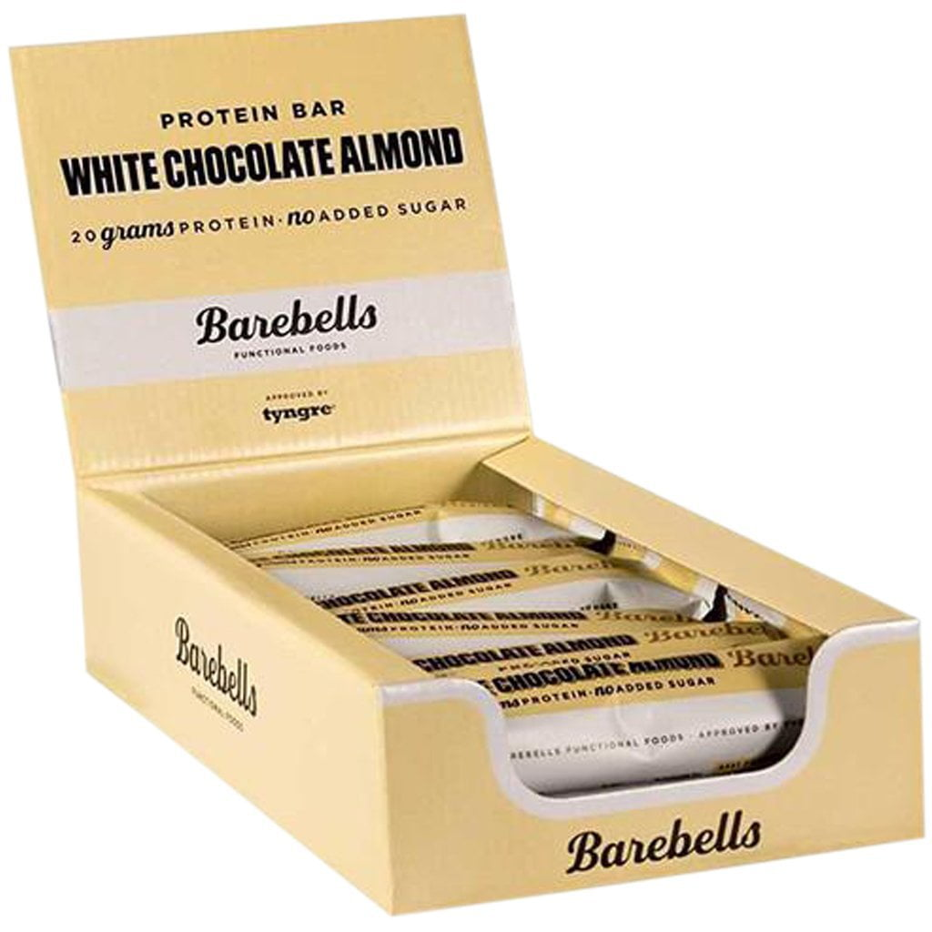 Barebells White Chocolate And Almond Bar 12 x 55g