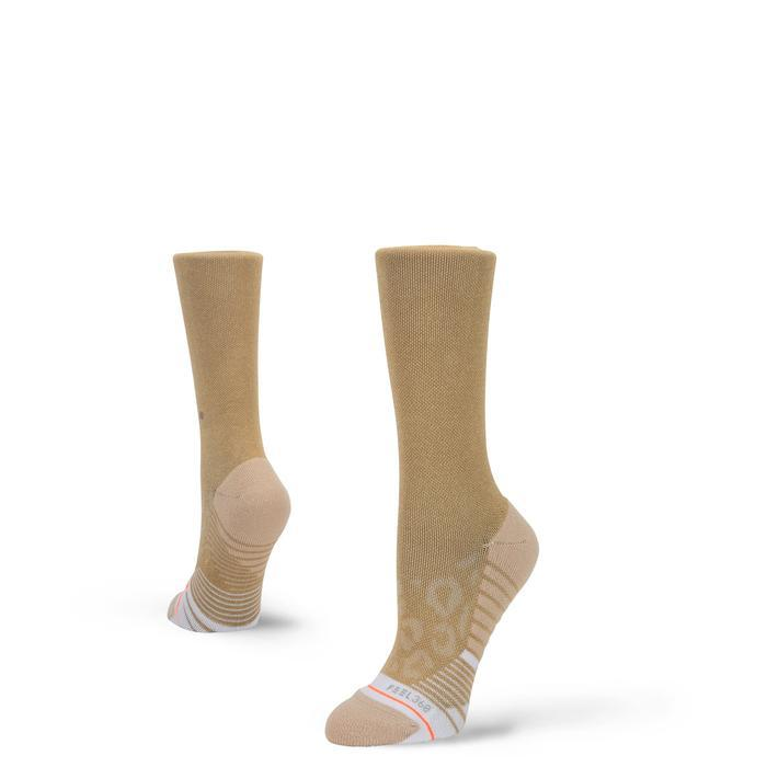 Stance Shiny Gold Crew Training Socks