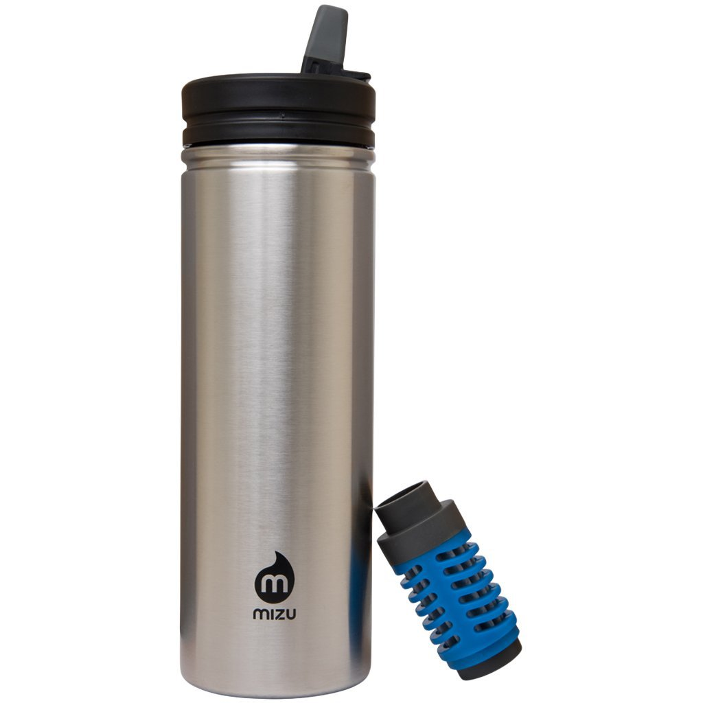 MIZU 360 - M9E Stainless (Straw Lid & Everday Filter Included)