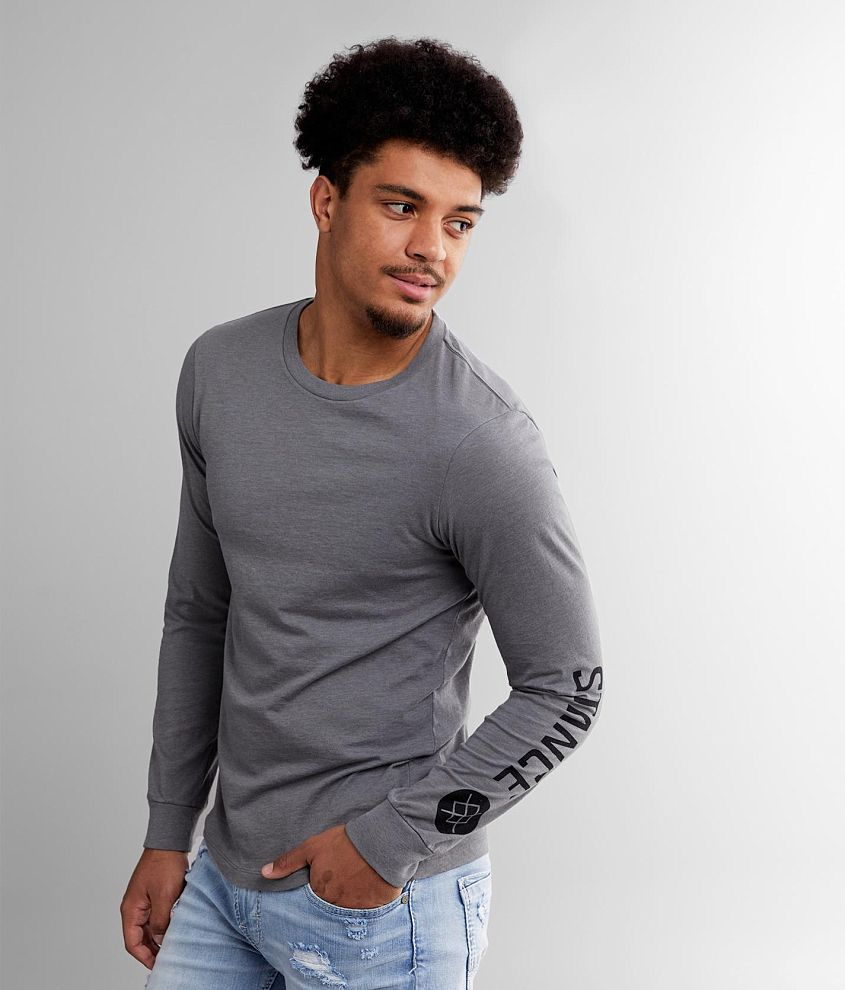 Stance Source Long Sleeve T-Shirt Grey