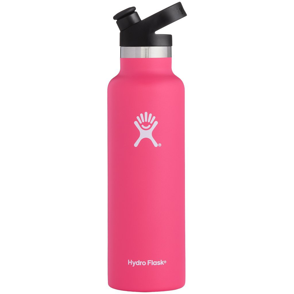 Hydro Flask 21oz Standard Mouth with Sport Cap Watermelon