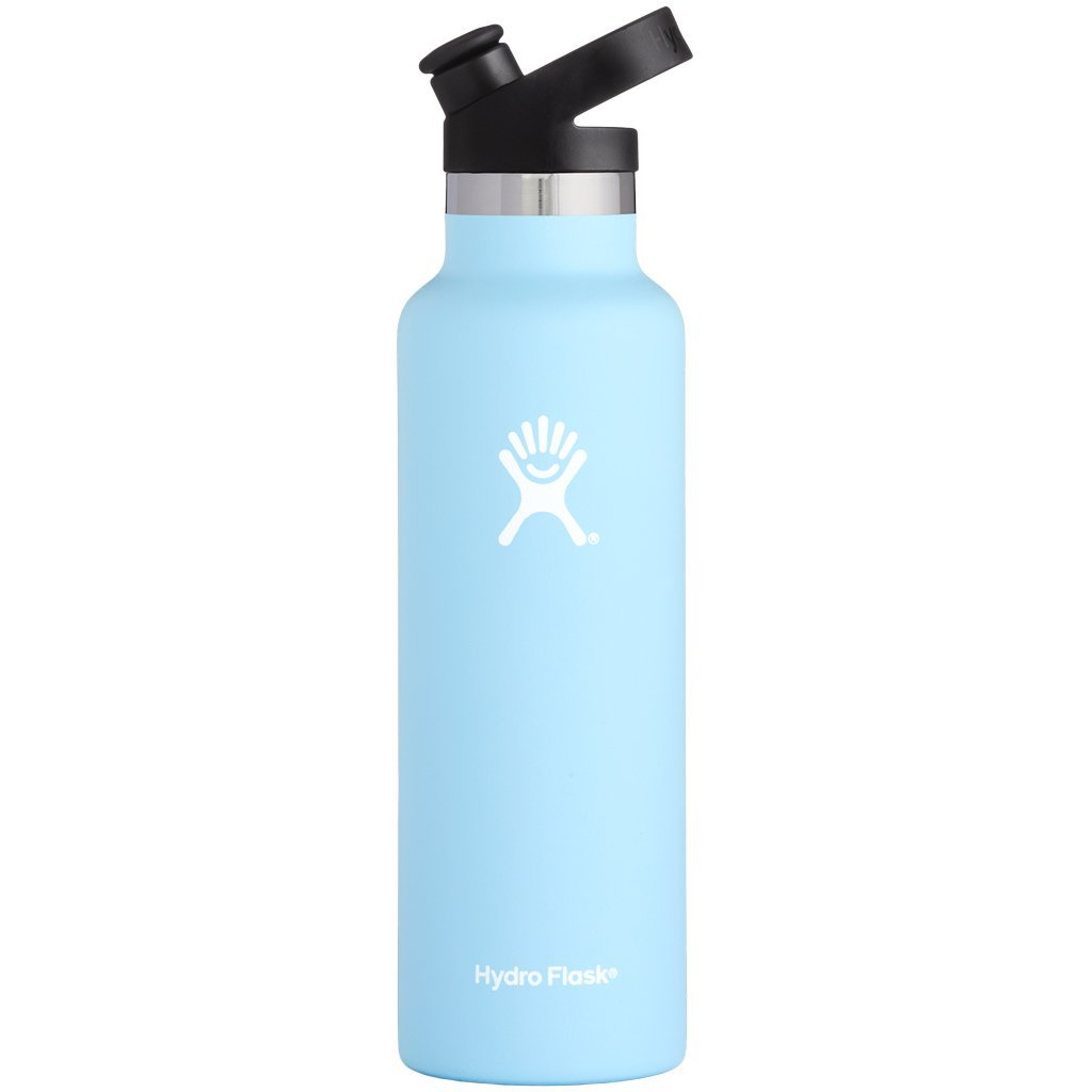 Hydro Flask 21oz Standard Mouth with Sport Cap Frost
