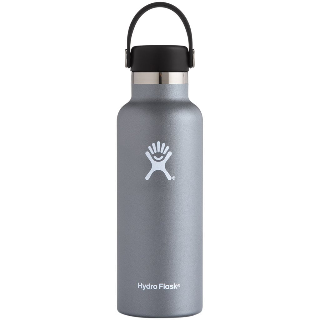 Hydro Flask 18oz Standard Mouth with Standard Flex Cap Graphite