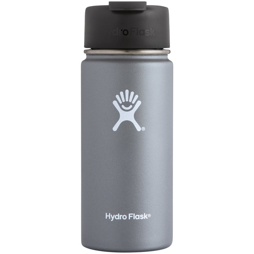 Hydro Flask Coffee 16oz Wide Mouth with Flip Lid Graphite