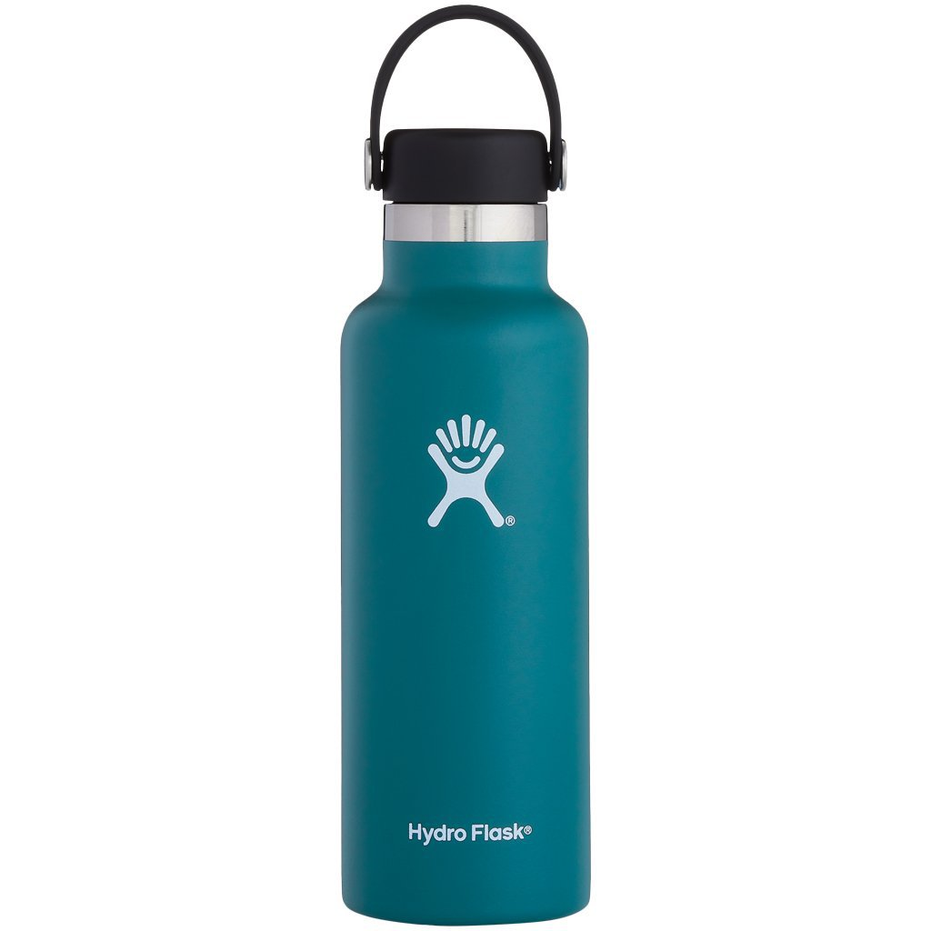 Hydro Flask 18oz Standard Mouth with Standard Flex Cap Jade