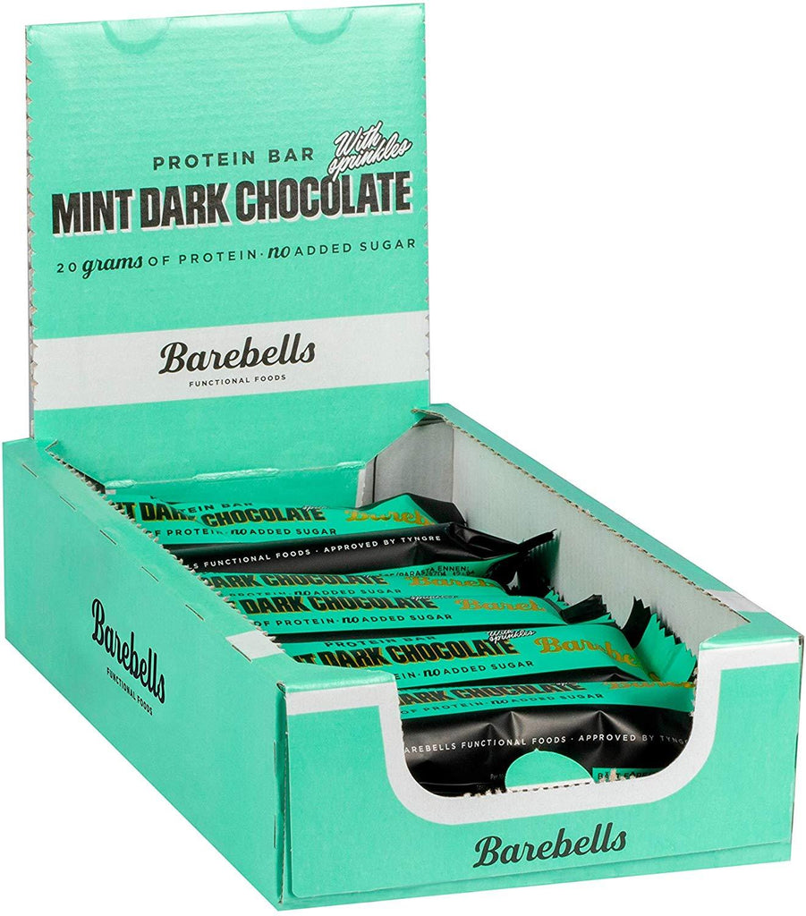 Barebells Bar Mint Dark Chocolate 12x55g