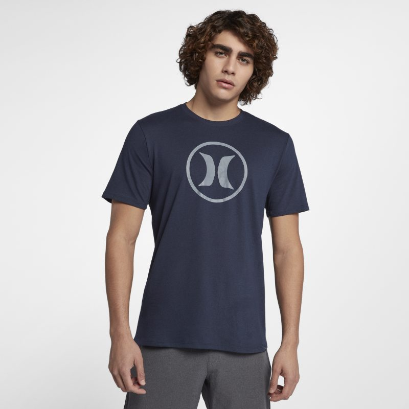 Hurley Dri-Fit Circle Icon Obsidian