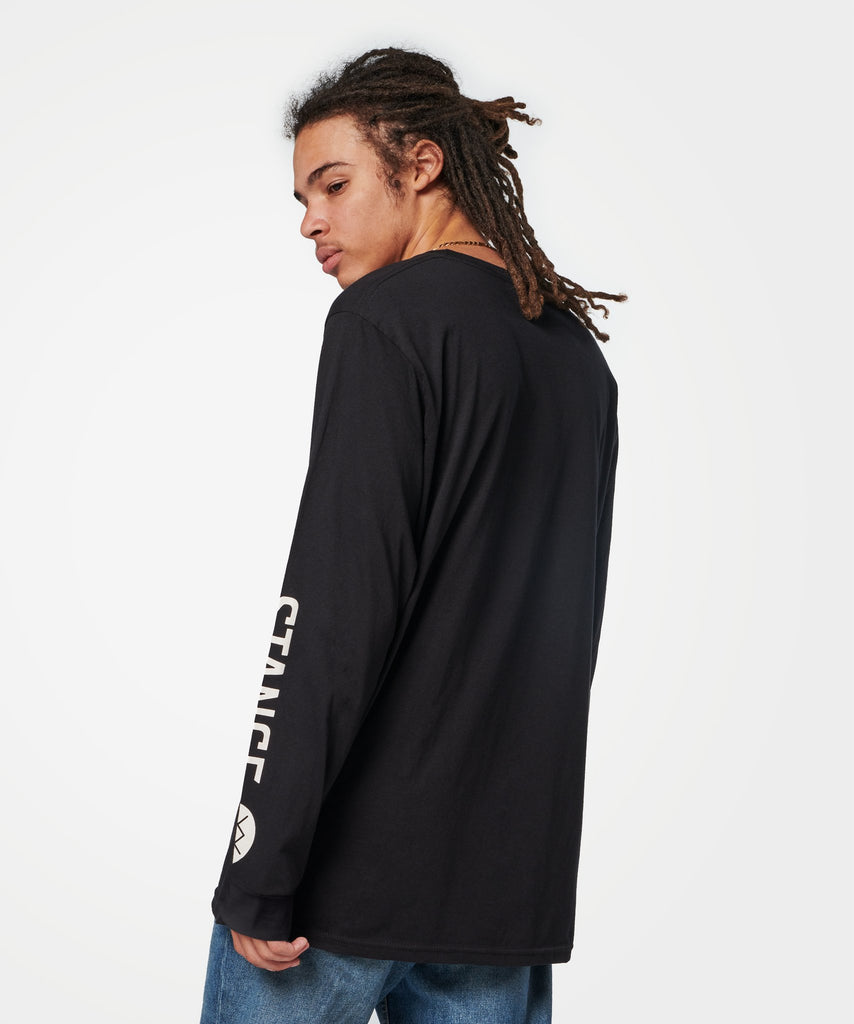 Stance Source Long Sleeve T-Shirt Black
