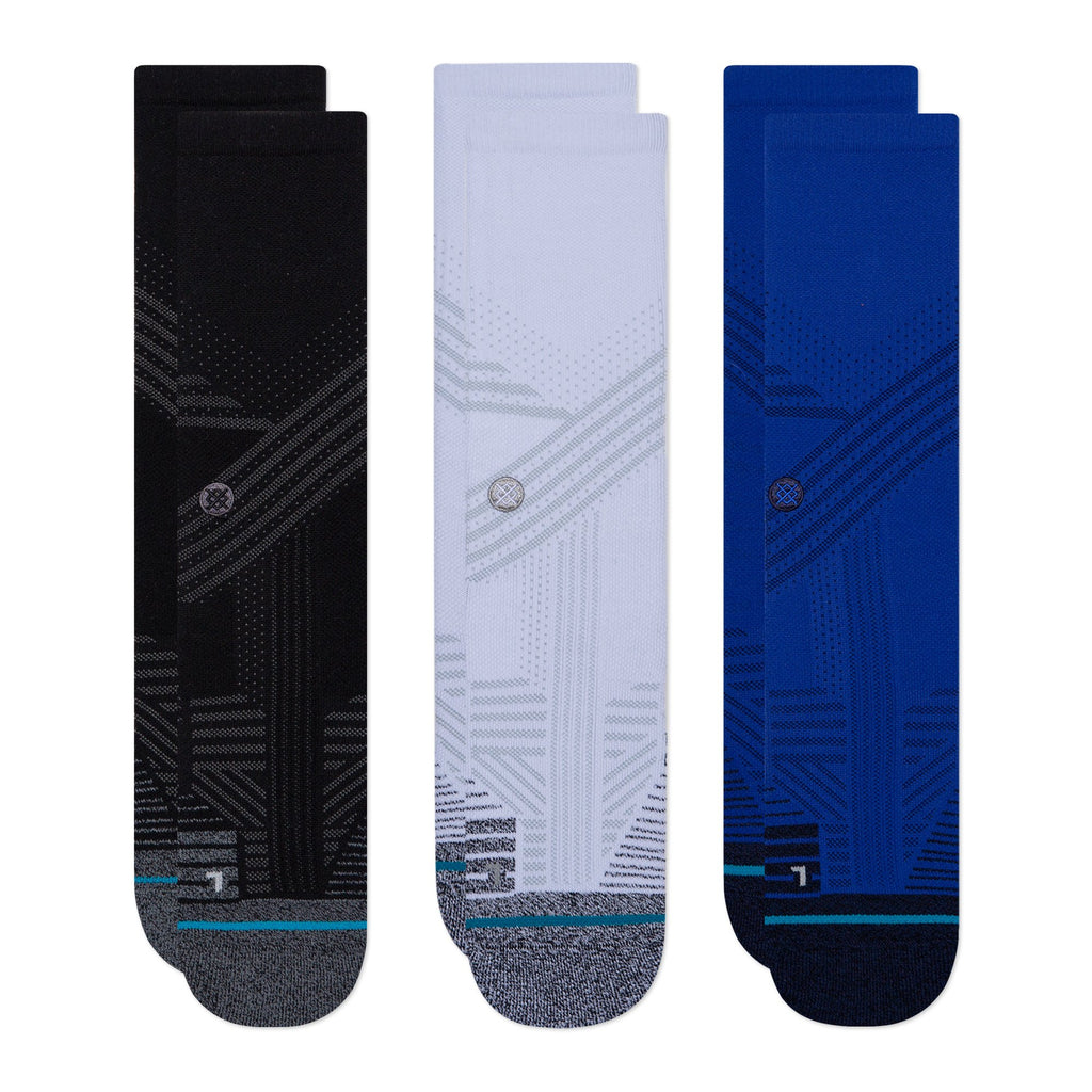 Stance Athletic Crew 3 Pack Training Socks