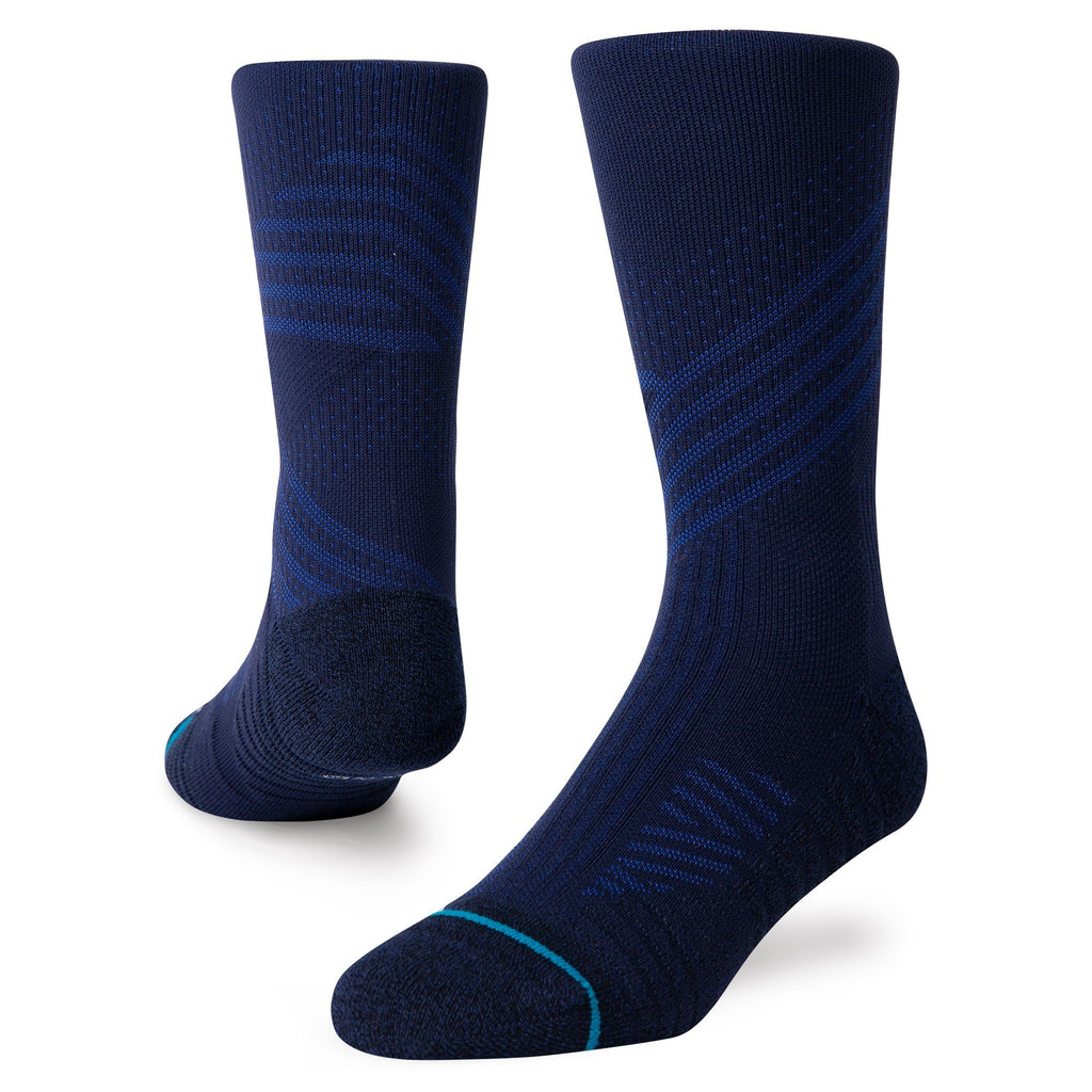Stance Athletic Crew Navy Training Socks