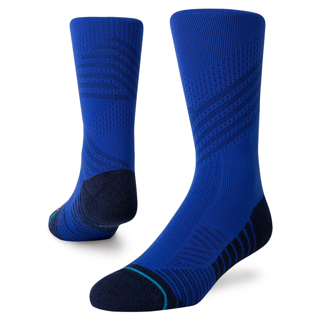 Stance Athletic Crew Royal Blue Training Socks