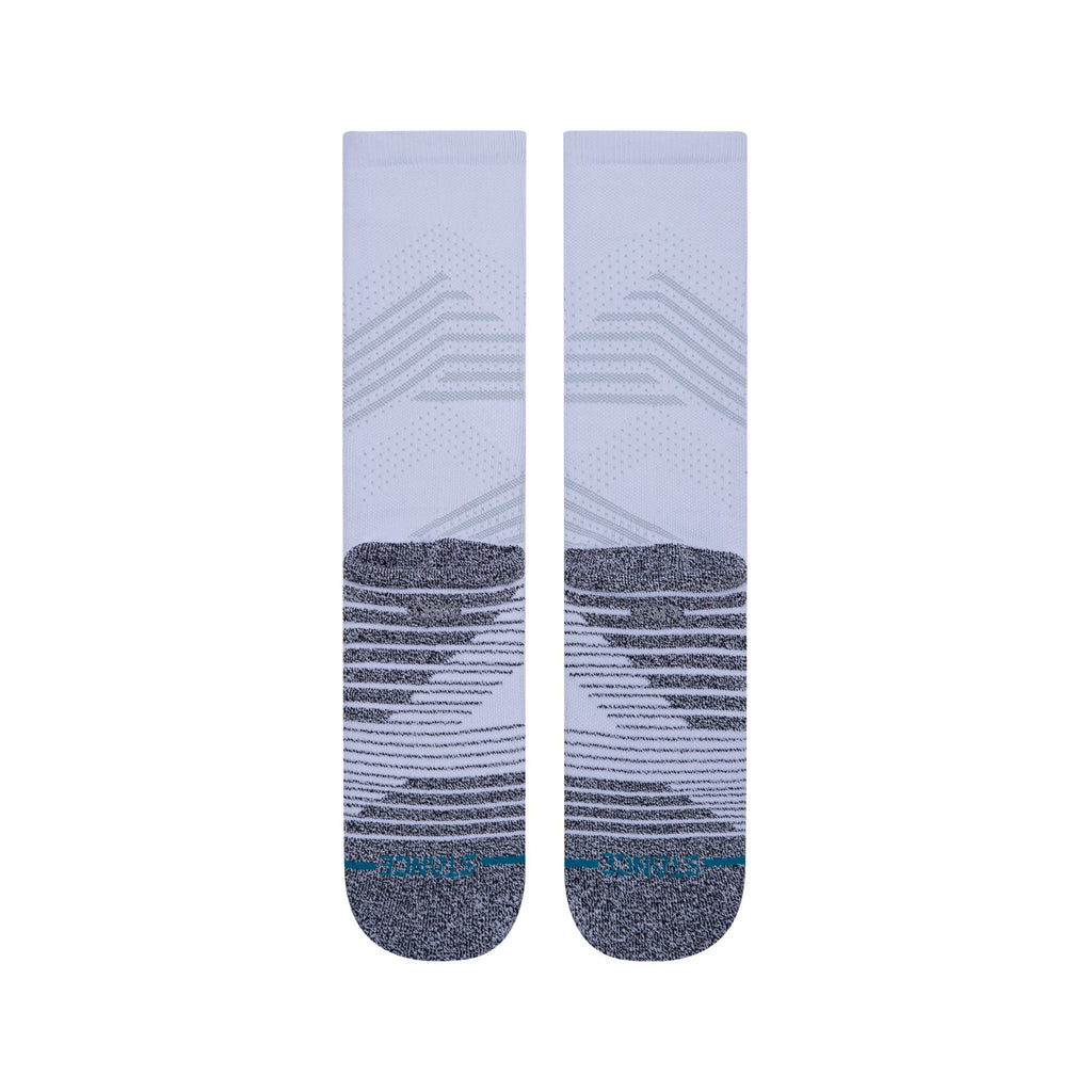Stance Athletic Crew White Training Socks