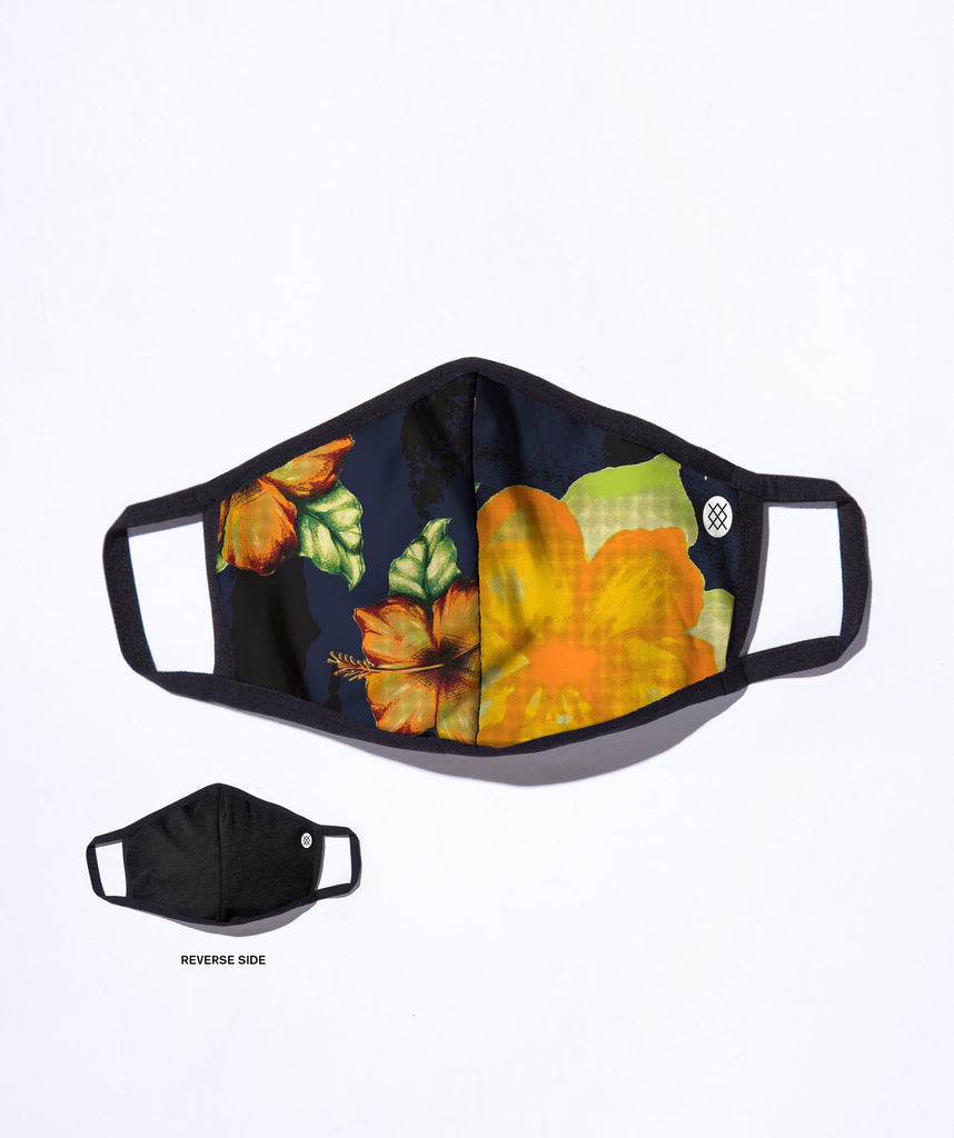 Stance Hibiscus Smear Adjustable Mask