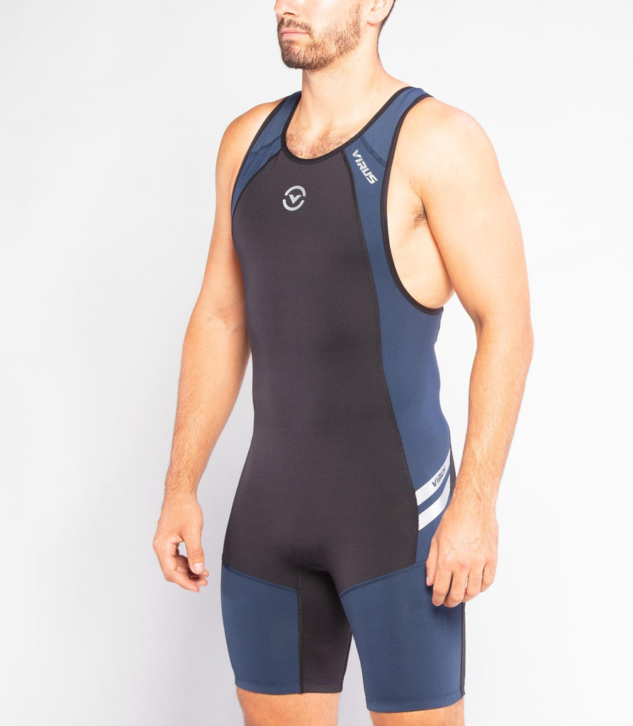 Virus Au12 | Bioceramic ELEVATE II Weightlifting Singlet Black / Navy