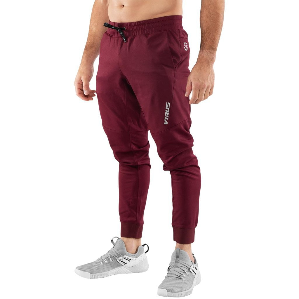 Virus Au26 | IconX BioCeramic Performance Pant Maroon / White