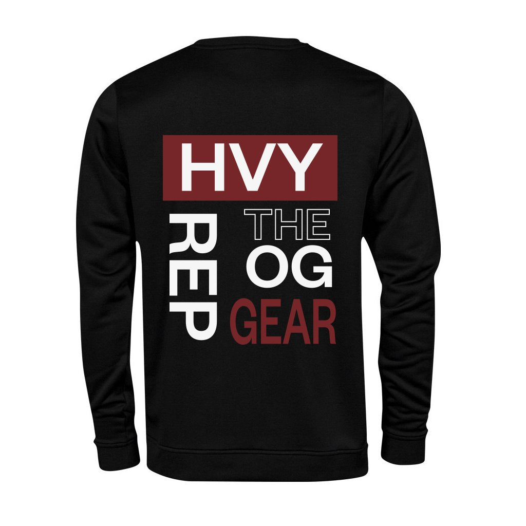 Heavy Rep Gear OG Flex Black Sweatshirt