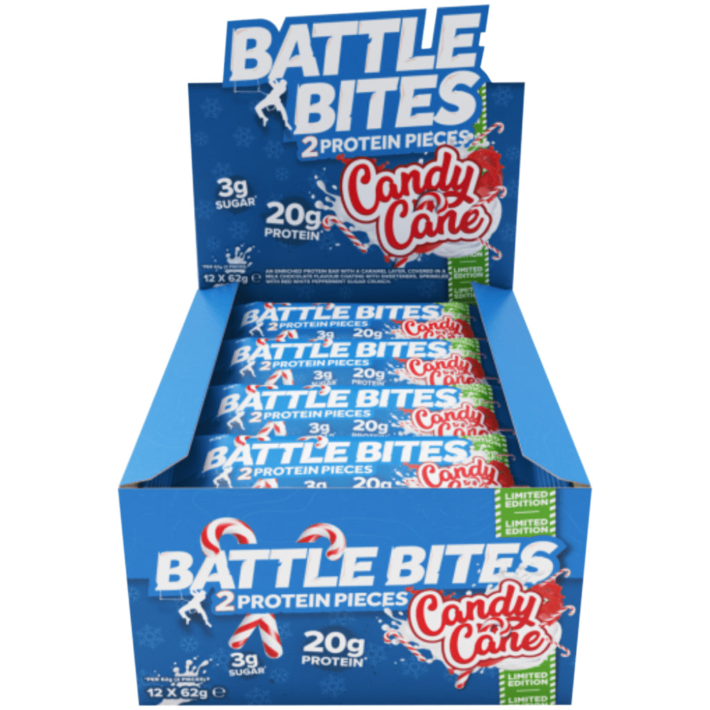 Battle Bites Candy Cane - 12 Bars